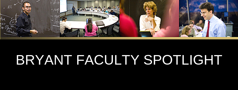 Bryant Faculty Spotlight, Episode 2: Stefanie Boyer