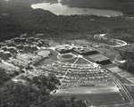 Aerial view of the Bryant Campus