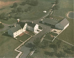 Aerial view of the Joseph Mowry homestead