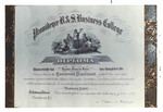 Diploma of Leander Francis Emin (Class of  1907)