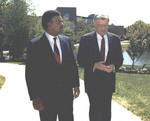 William Trueheart and Walter Mondale