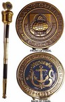 Harriet E. Jacobs Memorial Mace - Bryant College