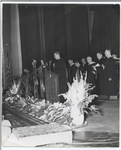 Commencement, August 5, 1949, the Reverend Richard Alban Johnson