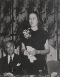 Miss Ruth Leach Speaking at the 1944 Bryant Commencement Luncheon