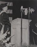Miss Ruth Leach Receiving Honorary Degree