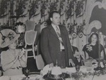 J. Howard McGrath, Governor of Rhode Island, at the 1944 Commencement Luncheon