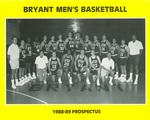 Bryant Men's Basketball - 1988-1989 Prospectus
