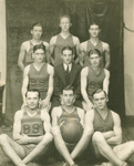 Men's Basketball Team - Circa 1929-1930