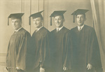 Commencement 1930 - Four Members of the Class of 1930