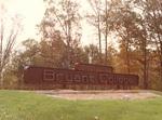 Original Smithfield Campus Entrance Sign
