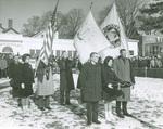 Centennial Flag Raising Ceremony, Jan 29, 1963