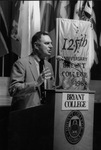 Dr. William T. O'Hara Delivering the State of the College Address