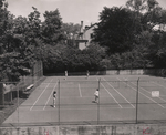 Bryant Tennis Courts at the Corner of Hope and Benevolent