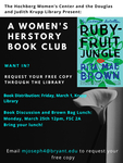 A Women's Herstory Book Club: Ruby-Fruit Jungle by Hochberg Women's Center