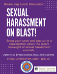 Sexual Harassment on Blast! by Hochberg Women's Center