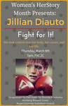 Women's Herstory Month Presents: Jillian Diauto by Hochberg Women's Center