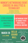 Women's Networking Event: Careers in Analytics & Technology by Hochberg Women's Center