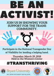 Be an Activist by Pride Center
