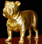 Class of 1999 Gift -- Golden Bulldog