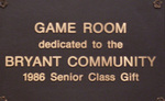 Class of 1986 Gift -- Game Room Enhancements