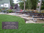 Class of 1996 Gift -- Picnic Area between the New and Old Townhouses