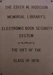 Class of 1978 Gift - Book Theft Detection System for the Edith M. Hodgson Memorial Library
