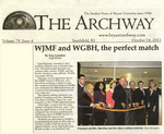 WJMF and WGBH by The Archway