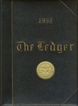 "The 1952 Bryant Yearbook, ""The Bryant Ledger"""