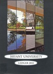 "The 2010 Bryant Yearbook, ""The Bryant Ledger"""